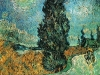 Van Gogh - Road with Cypress and Star